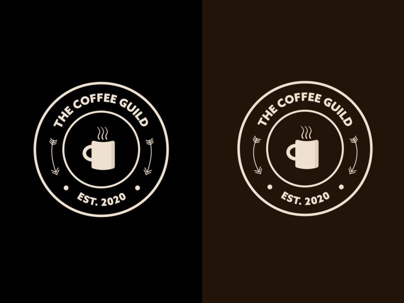 Logo Badge brand design branding illustrator adobe illustrator coffee cup coffee logo badge logo design logo