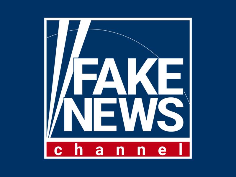 Fake News Logo logodesign logo design logo fake news news web illustrator vector branding design