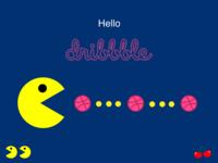 Pacman Dribbble Shot