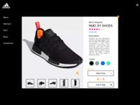 Adidas Shoe Review Concept