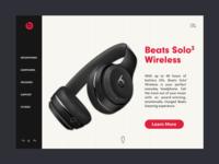 Beats Site Concept