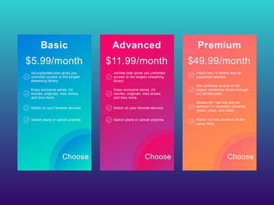 Pricing Options sketch app pricing plans pricing guide ux web ui branding design