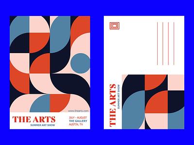 postcard design graphic design postcard pattern indesign design branding