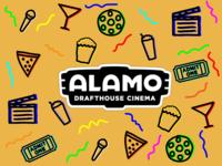 Alamo Drafthouse Cinema Graphic