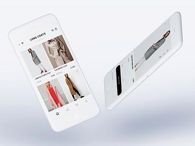 Trend Finder app minimal ui ux shopping app ecommerce app online store store fashion app fashion marketplace ecommerce app