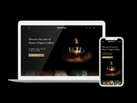 Nespresso website redesign
