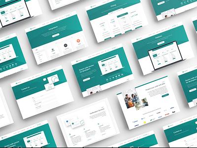 Codekeeper website ux design ui design website design fintech tech headers landing page desktop website