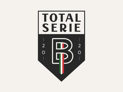 Total Serie B italy sports related logo italian sports calcio blog logo logo design soccer