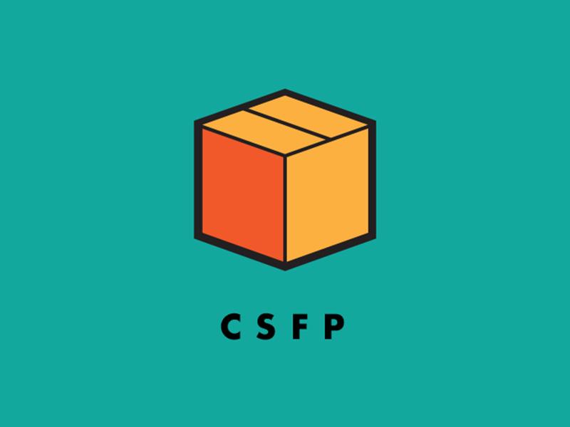CSFP Logo non-profit program identity branding logo