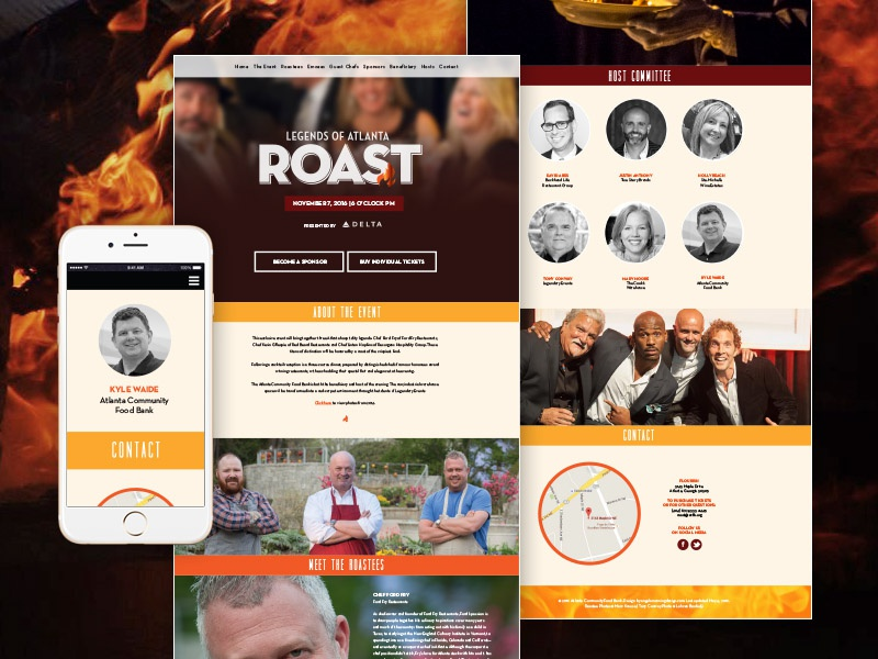 Event Responsive Website Design dreamweaver css html desktop tablet mobile event design website responsive