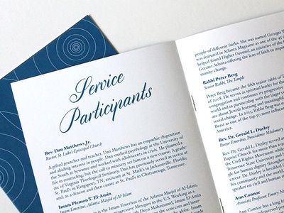 Retirement Celebration Program Design