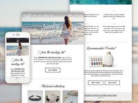 Twin Waters Jewelry Responsive Website Design