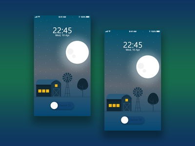 Night Mode interface designer adobe experience design design mobile app mobile device app design ui mobile app design ui  ux design ui deisgn