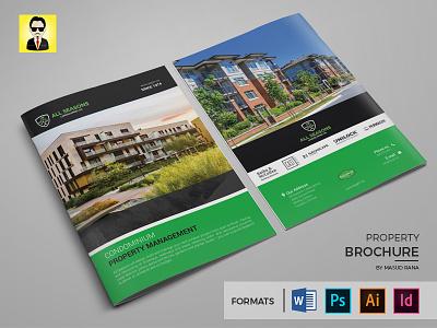 Property Brochure template web print profile company design graphic magazine brochure property