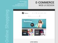 E-Commerce Web UI Design 2