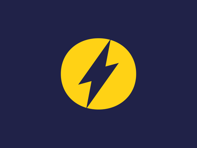 One Logo logo design logo design branding fast icon one bolt lightning logo bolt fast speed one