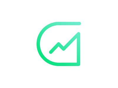 Grow Digital design designer logo graphic design logo green g monogram identity grow digital growth growth g g mark logo logo design branding brand and identity