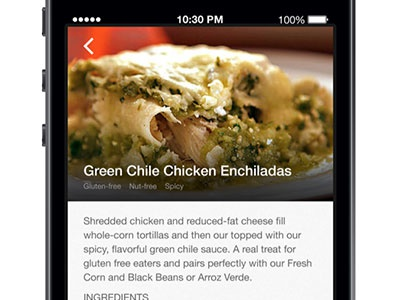 Product detail ios food glutenfree