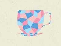 Mosaic Tea Cup