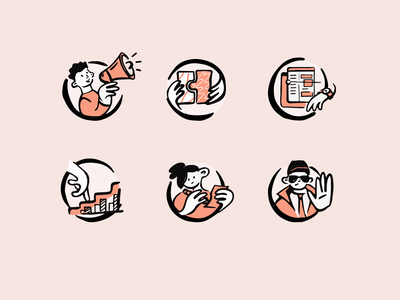 Icon set budget management service bookings security compliance digital integration support scheduling planning invoicing agreements onboarding icon set flat illustration vector 2d art illustration