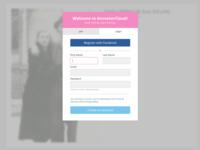 AncestorCloud user authentication modal