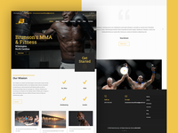 Derek Brunson MMA Website