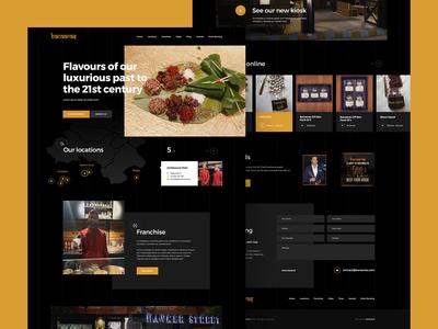 Banaaras Web Design For Restaurant