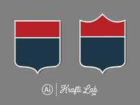 Free Badge Shape Vector Set
