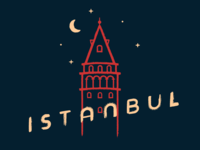 """Free Hand-Drawn """"Istanbul"""" Poster"""