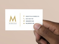 FREE Basic Business Card PSD Template