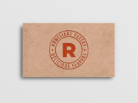 Free Recycled Paper Business Card PSD Mockup