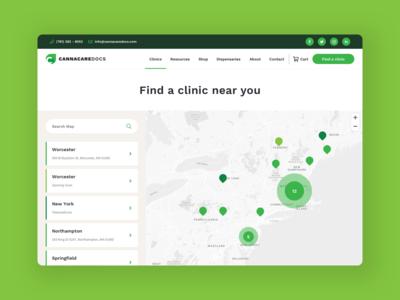 Canna Care Docs - Map