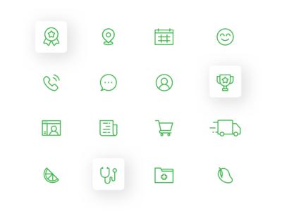 Canna Care Docs - Icon Set