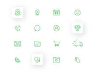 Canna Care Docs - Icon Set