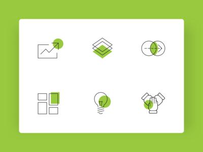 CB2 Insights - Data Icon Set