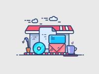 Branding House (Custom graphics)