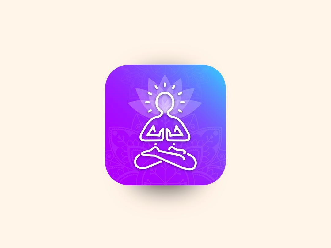 Meditation App Icon mobileappdesign icon appicon meditation
