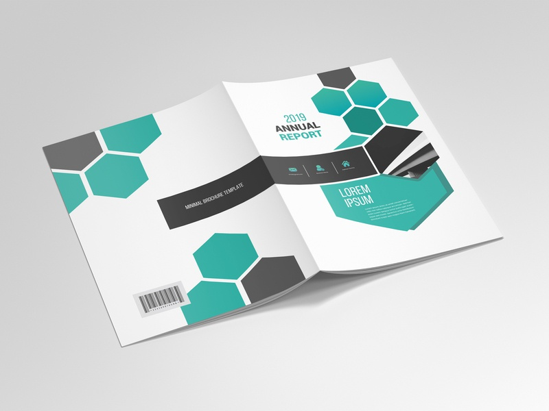Business Brochure Template 02 brochure design modern proposal annual report 4 pages brochure business brochure brochure template template brochure