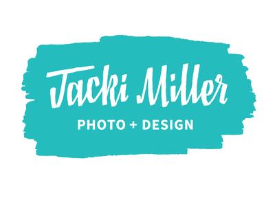 Jacki Miller lettering logo identity