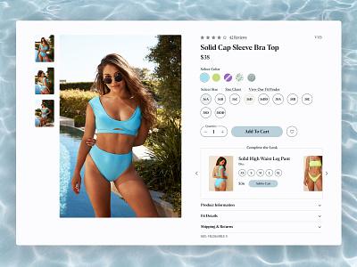 SwimSpot shopify ecommerce e-commerce ux ui web design ux design ui design