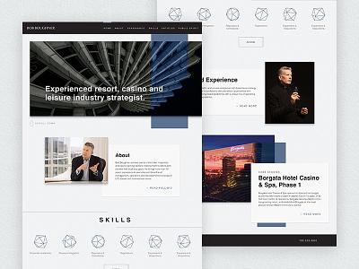 Resume WordPress Theme web design wordpress