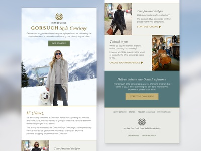 Gorsuch Style Concierge Email email