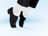 Michael Jackson Dancing Shoes