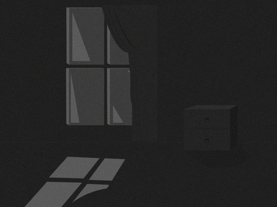 Dark Night black house illustration vector night dark