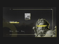 Art Landing Page | Sculpture Design