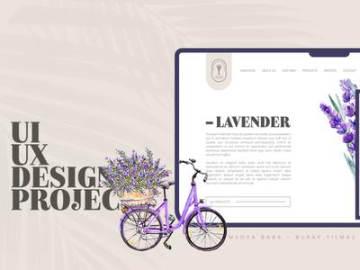 UI/UX Design For Soap Production Company farmer project mobile design responsive soft website design website uiux shampoo soap