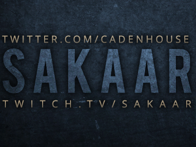 Sakaar Twitter Banner twitch streaming vector gaming illustrator photoshop logo esports