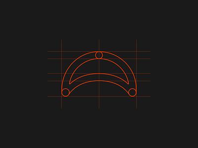 HANË IDENTITY 002 minimal black typography branding design symbol logo