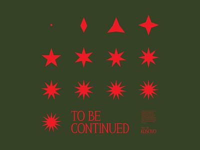 STAR FORMATION print vector branding illustration design black minimal symbol logo
