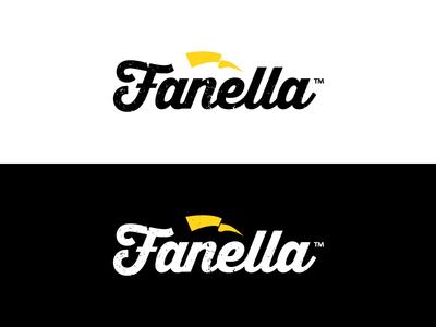 Fanella™ texture symbol soccer logo yellow black kit flag football